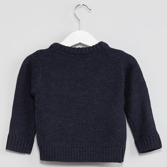 MAX Reindeer Full Sleeves Sweater