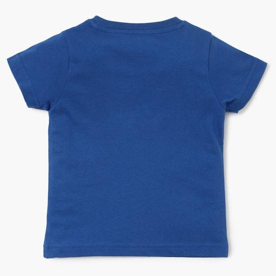 MAX Camping Print Crew Neck T-Shirt
