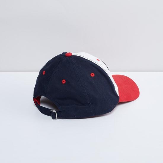 MAX Captain America Applique Colourblock Baseball Cap