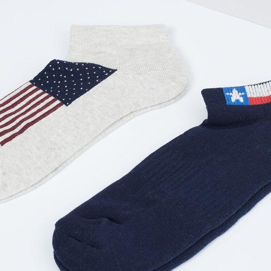 MAX Jacqaurd Knitted Socks- Set of 2 Pcs.