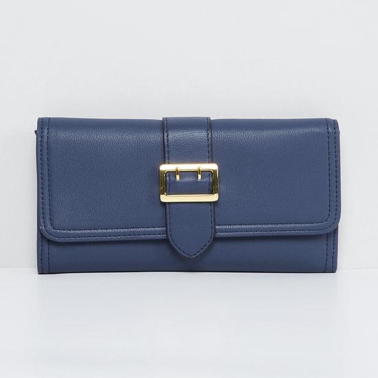 MAX Solid Flap Closure Wallet