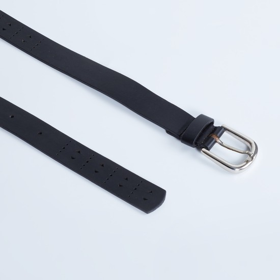 MAX Laser Cut-Out Solid Belt