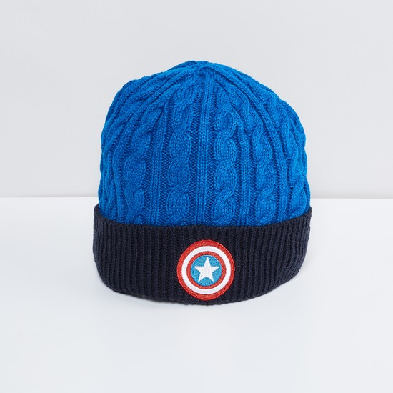 MAX Cable Knitted Captain America Beanie