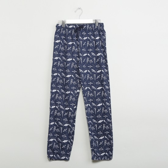 MAX Set Of Printed T-shirt & Track Pants