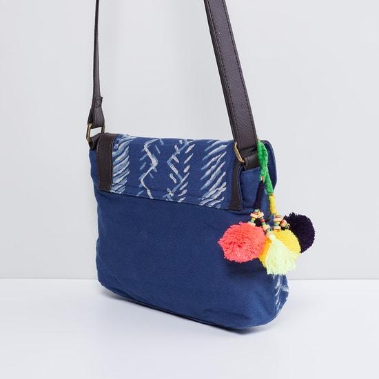 MAX Indigo Print Sling Bag