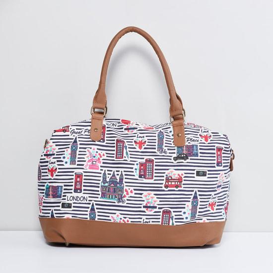MAX London Print Duffle Bag