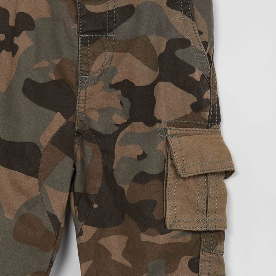 MAX Camouflage Print Cargo Pants