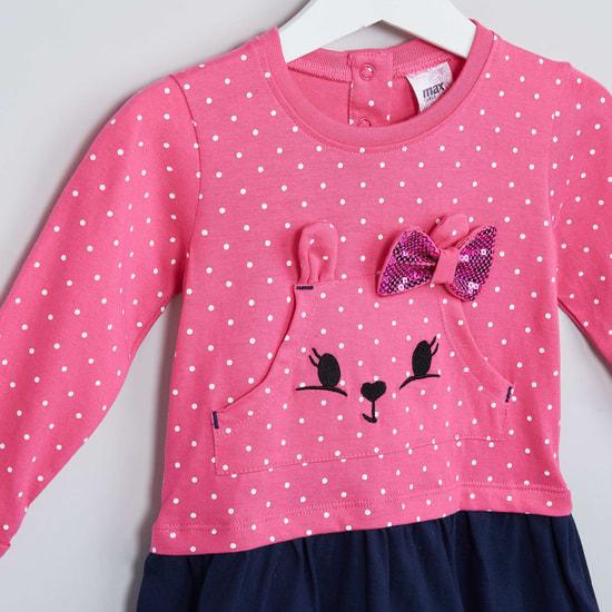 MAX Bunny Polka Dress Top