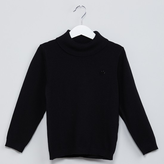 MAX Cowl Neck Long-Sleeve Sweater