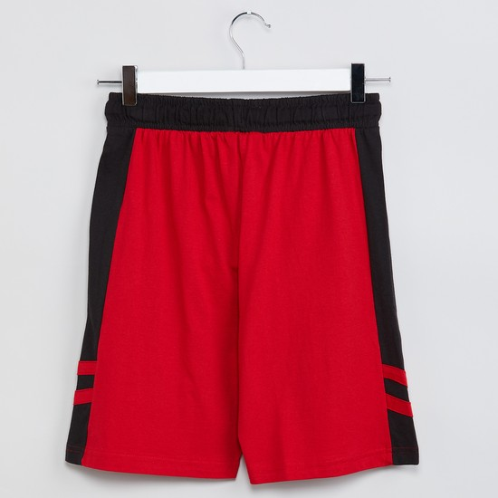 MAX Panelled Knitted Shorts