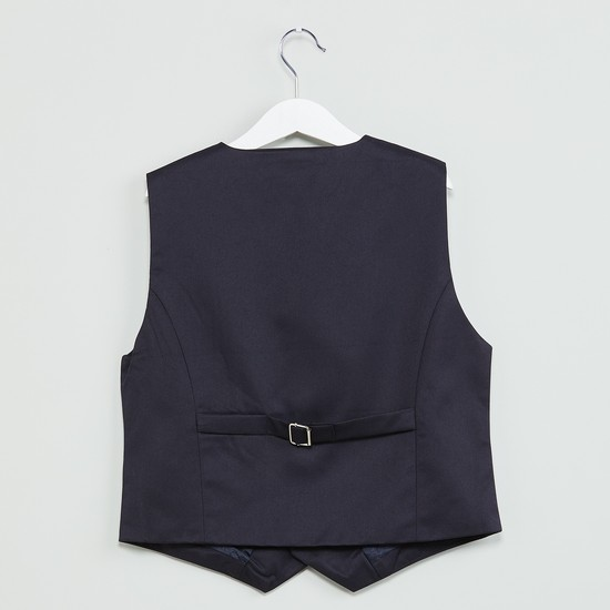 MAX Solid Single Breasted Waistcoat
