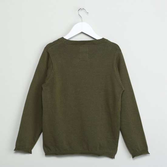 MAX Solid Sweater