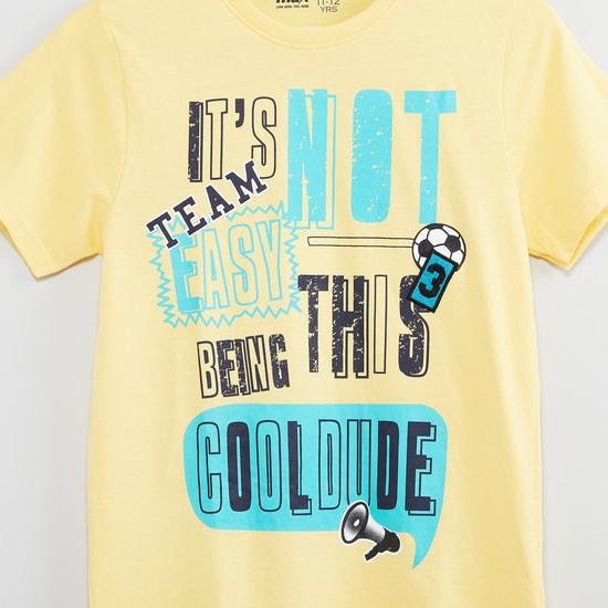 MAX Printed Lounge T-shirt & Shorts Set - Set of 2 Pcs.