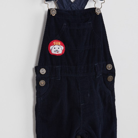 MAX Corduroy Button-up Dungarees