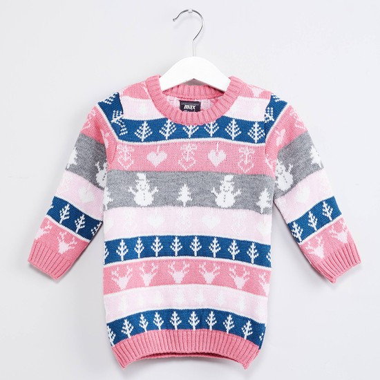 MAX Snowman Long Sleeves Pullover
