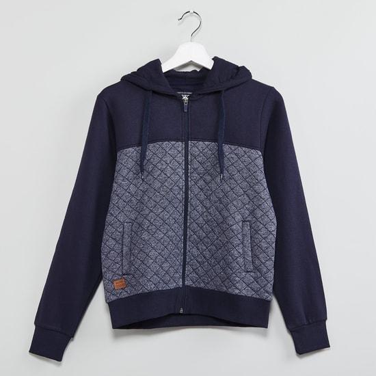 MAX Zip-Up Hooded Sweatshirt