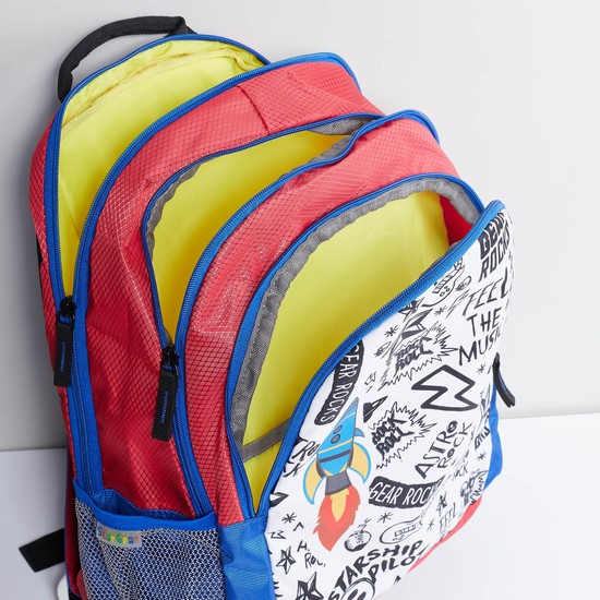 MAX Doodle Print Backpack
