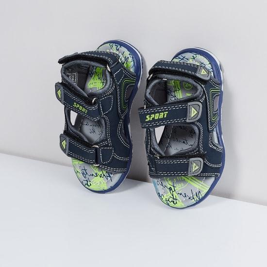 MAX Velcro Strap Sandals