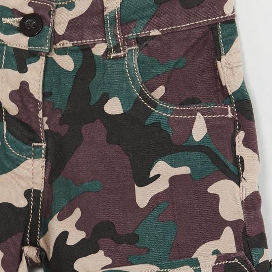 MAX Camouflage Print Shorts