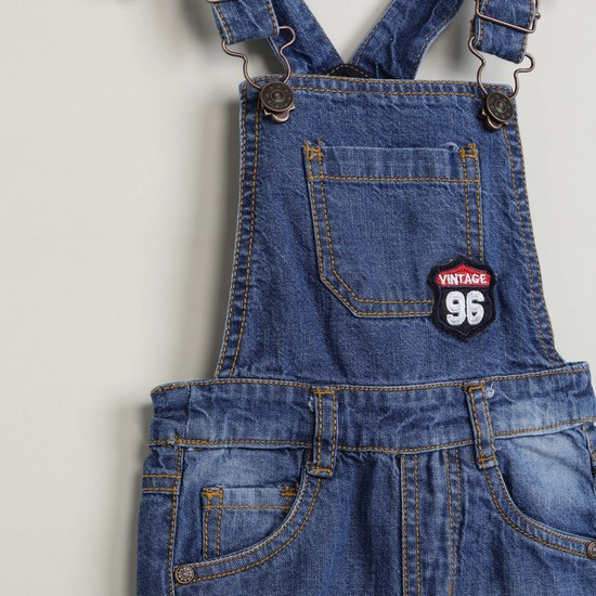 MAX Solid Stonewashed Romper