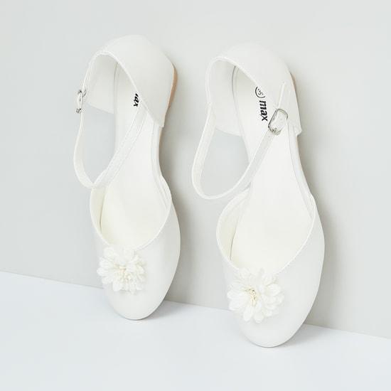 MAX Floral Applique Detail Heeled Sandals