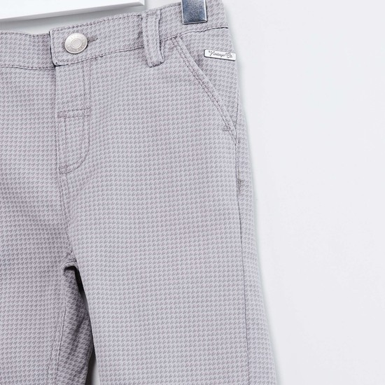 MAX Houndstooth Low Rise Slim Fit Trousers