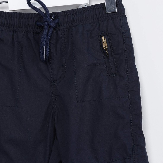 MAX Panelled Drawstring Waist Pants