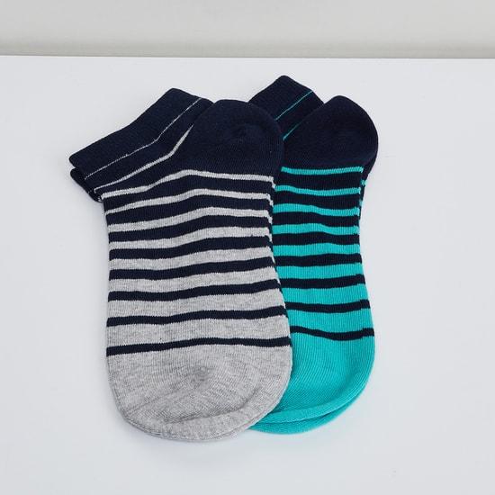 MAX Striped Knitted Socks- Set of 2 pcs.