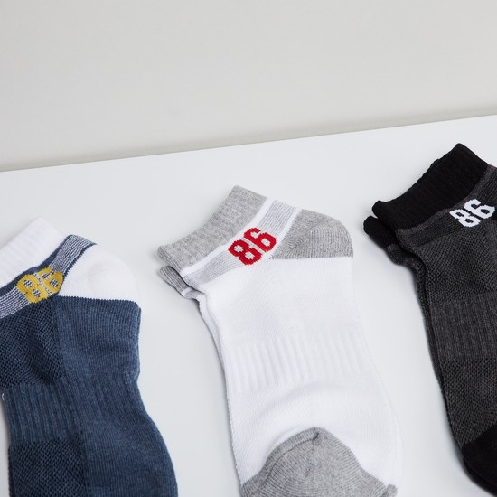 MAX Printed Sports Socks - Pack of 3