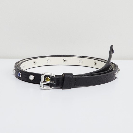 MAX Stone Embellished Belt