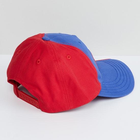 MAX Embroidered Colourblock Baseball Cap