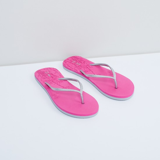 MAX Floral Detailed Slippers