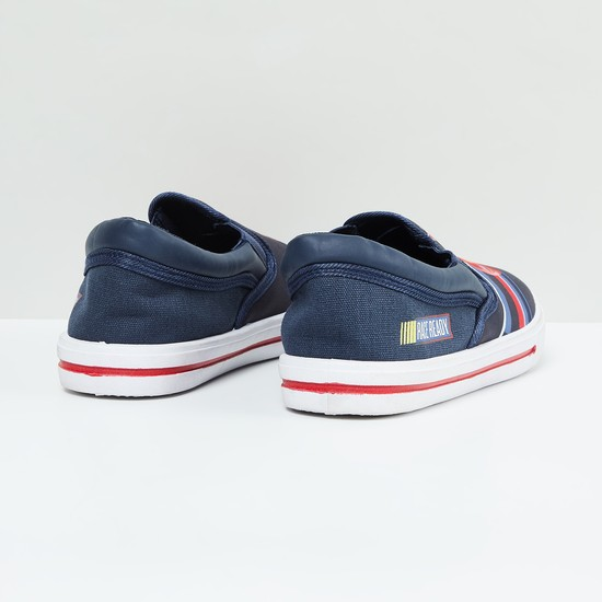 MAX Cars Print Slip-On Casual Shoes