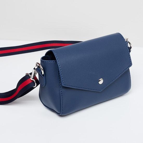 MAX Solid Handbag with Detachable Sling