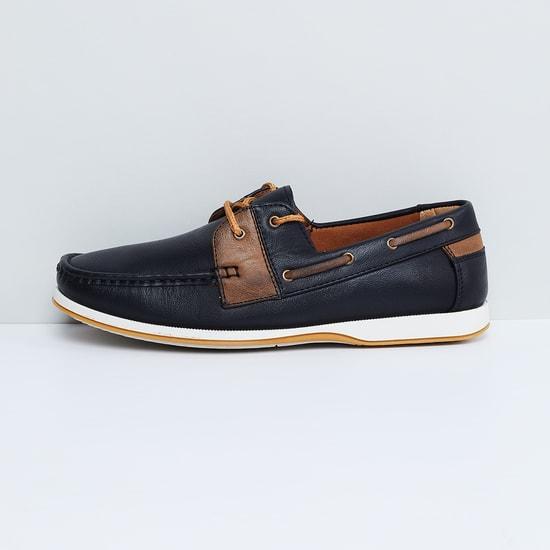 MAX Colourblock Boat Shoes