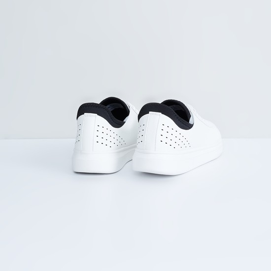 MAX Perforated Casual Lace-Up Shoes