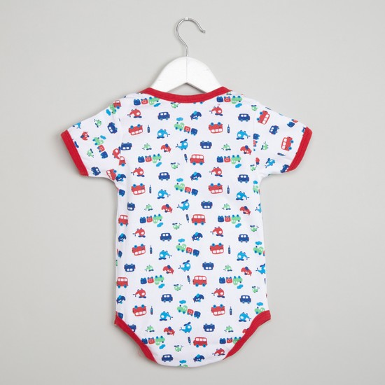 MAX Printed Pack of 2 Bodysuits