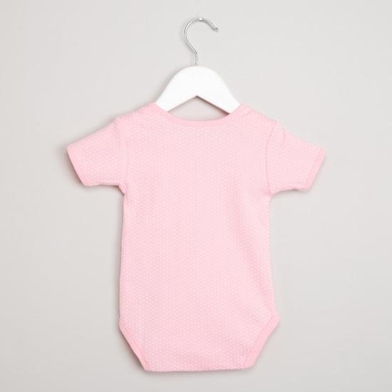 MAX Printed Bodysuit, Bibs & Beanie Gift Set