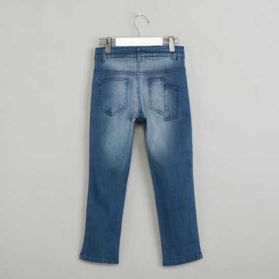 MAX Lightly Washed 5-Pocket Jeans
