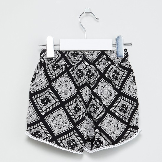 MAX Ethnic Print Shorts