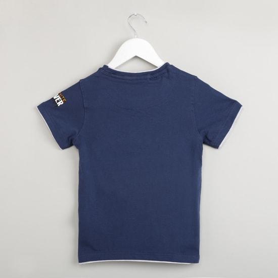 MAX Thanos Print Round Neck T-shirt