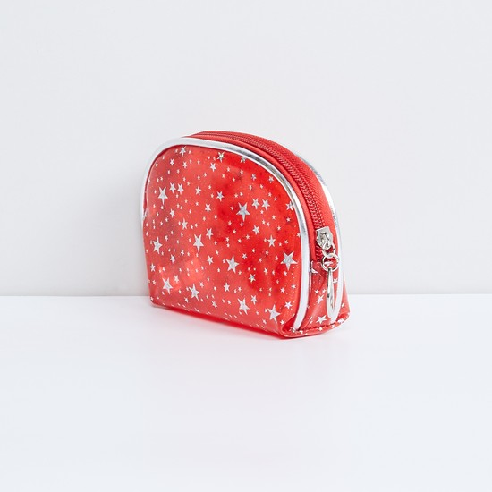 MAX Star-Shaped Print Pouch - Set of 2 Pcs.