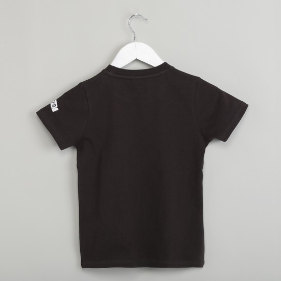 MAX Short Sleeve T-shirt with Appliques