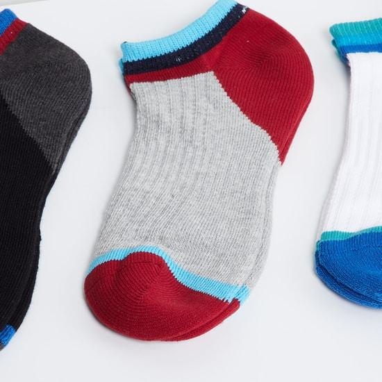 MAX Colourblock Sports Socks - 3 Pcs