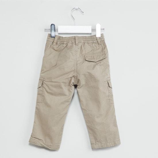 MAX Typographic Print Cargo Pants