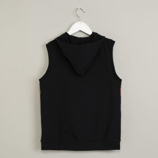 MAX Printed Sleeveless Sweatshirt