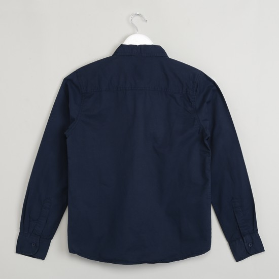 MAX Spread Collar Full Sleeve Shirt
