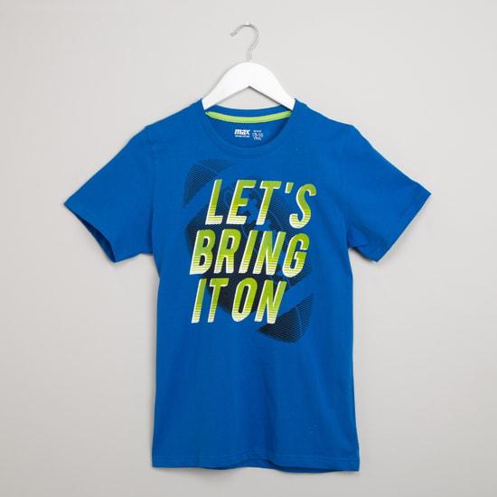 MAX Printed T-shirt & Shorts Set