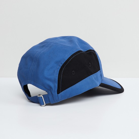 MAX Colourblocked Cap with Embroidery Detailing