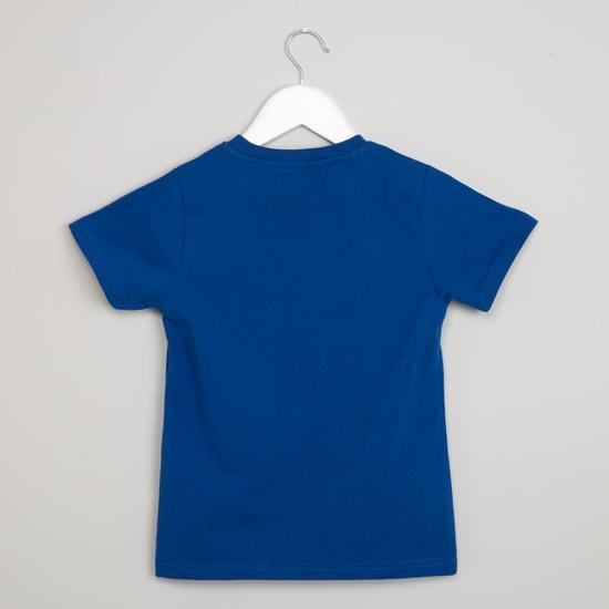 MAX Typography Print Short Sleeve T-shirt